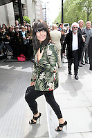 LONDON - MAY 17: Claudia Winkleman attends the 'Ivor Novello Awards' at the Grosvenor House Hotel, London, UK. May 17, 2012. (Photo by Richard Goldschmidt)