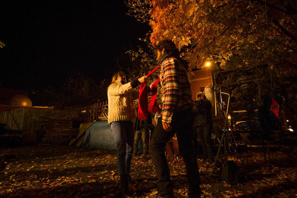 PATRICE DUBOIS ET DANY MICHAUD, le 18 octobre 2015