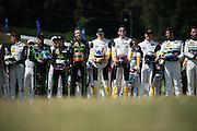 September 29, 2016: IMSA Petit Le Mans, NAEC drivers photoshoot