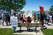 CANADA, Windsor: Walk for Justice/Black Lives Matter
