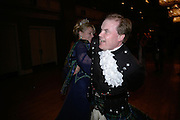 Lady Caroline and Lord Harry Dalmany, The Royal Caledonian Ball 2007. Grosvenor House. 4 May 2007.  -DO NOT ARCHIVE-© Copyright Photograph by Dafydd Jones. 248 Clapham Rd. London SW9 0PZ. Tel 0207 820 0771. www.dafjones.com.
