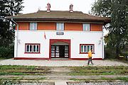 Romania, Ucea, The renovated train station