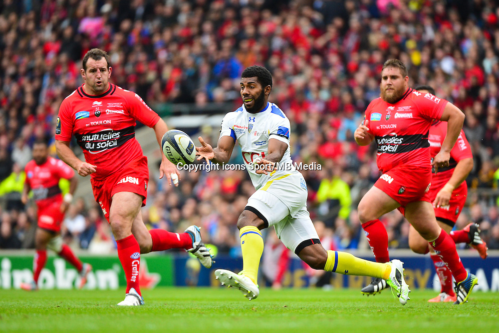 Noa NAKAITACI - 02.05.2015 - Clermont / Toulon - Finale European Champions Cup -Twickenham<br />Photo : Dave Winter / Icon Sport