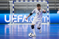 Andre Sousa of Portugal during futsal semifinal match between National teams of Russia and Portugal at Day 9 of UEFA Futsal EURO 2018, on February 8, 2018 in Arena Stozice, Ljubljana, Slovenia. Photo by Urban Urbanc / Sportida