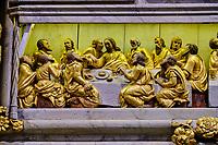France, Finistère (29), l'enclos paroissial de Lampaul-Guimiliau, l'église Notre-Dame // France, Finistere (29), the parish enclosure of Lampaul-Guimiliau, the Notre-Dame church