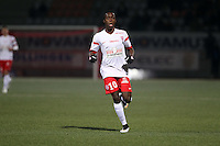 Arnaud LUSAMBA  - 06.03.2015 - Nancy / Laval - 27eme journee de Ligue 2 <br />