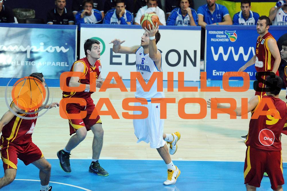 DESCRIZIONE : Bormio Torneo Internazionale Diego Gianatti Italia Macedonia<br /> GIOCATORE : Stefano Mancinelli<br /> SQUADRA : Nazionale Italia Uomini<br /> EVENTO : Torneo Internazionale Guido Gianatti<br /> GARA : Italia Macedonia<br /> DATA : 30/07/2011 <br /> CATEGORIA : tiro<br /> SPORT : Pallacanestro <br /> AUTORE : Agenzia Ciamillo-Castoria/GiulioCiamillo<br /> Galleria : Fip Nazionali 2011<br /> Fotonotizia : Bormio Torneo Internazionale Diego Gianatti Italia Macedonia<br /> Predefinita :