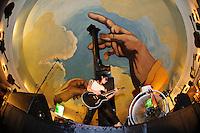 Miyavi performing at Hard Rock Cafe, Kuta, Bali, Indonesia, 12/10/2012.