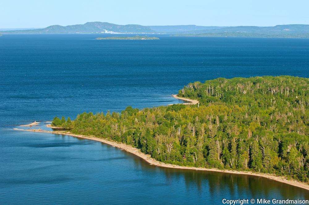 Lake Superior at Kama Bay (Kama Point)<br /> Near Nipigon<br /> Ontario<br /> Canada