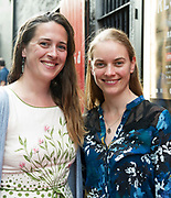 18/07/2017 Repro Free:   Gavan Brennan East Clare and Emer McMahon Galway at the opening night of Crestfall by Mark Rowe directed by Annabelle Comyn at the Mick Lally Theatre, Druid Lane Galway  during the 40th Galway International Arts Festival. Photo:Andrew Downes, xposure .