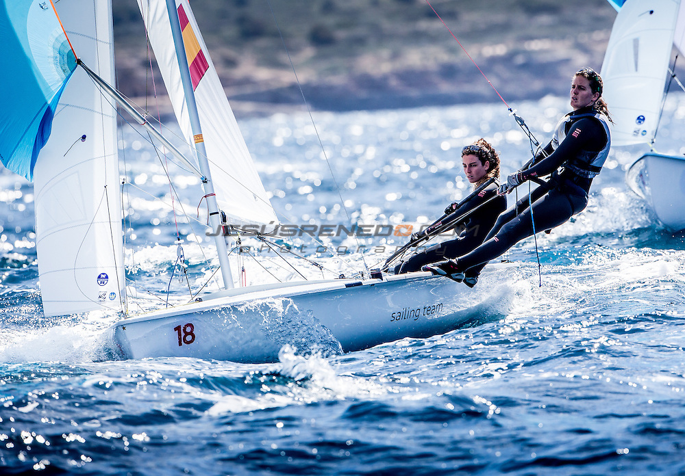 2016 470 European  Championship, Bay of Palma, Mallorca, Spain, 5-12 April 2016<br />