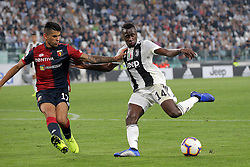 October 20, 2018 - Turin, Turin, Italy - Blaise Matuidi #14 of Juventus FC in action during the serie A match between Juventus FC and Genoa CFC at Allianz Stadium on October 20, 2018 in Turin, Italy. (Credit Image: © Giuseppe Cottini/NurPhoto via ZUMA Press)