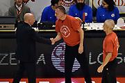 DESCRIZIONE : Pistoia Lega A 2014-2015 Giorgio Tesi Group Pistoia Acea Roma<br /> GIOCATORE : Carmelo Paternico Luca Dalmonte<br /> CATEGORIA : fairplay pregame arbitro<br /> SQUADRA : Acea Roma arbitro<br /> EVENTO : Campionato Lega A 2014-2015<br /> GARA : Giorgio Tesi Group Pistoia Acea Roma<br /> DATA : 30/11/2014<br /> SPORT : Pallacanestro<br /> AUTORE : Agenzia Ciamillo-Castoria/GiulioCiamillo<br /> GALLERIA : Lega Basket A 2014-2015<br /> FOTONOTIZIA : Pistoia Lega A 2014-2015 Giorgio Tesi Group Pistoia Acea Roma<br /> PREDEFINITA :