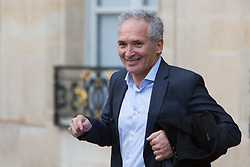 Christian Jeanpierre after the Legion of Honour during a ceremony to award French 2018 football World Cup winners, on June 4, 2019, at the Elysee Palace in Paris.Photo by Raphael Lafargue/ABACAPRESS.COM