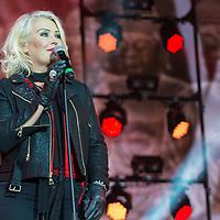 Kim Wilde in concert at Rewind Scotland, Scone Place, Perth, Scotland