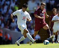 Photo: Olly Greenwood.<br />Tottenham Hotspur v Torino. Pre Season Friendly. 04/08/2007. Ricardo Rocha and Vincenzo Grela