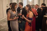 HANNAH VERNEY; SUMMER DAVIES, The Royal Caledonian Ball 2016. Grosvenor House. Park Lane, London. 29 April 2016
