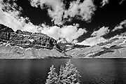 Bow Lake and the Candian Rocky Mountains<br />Banff National Park<br />Alberta<br />Canada