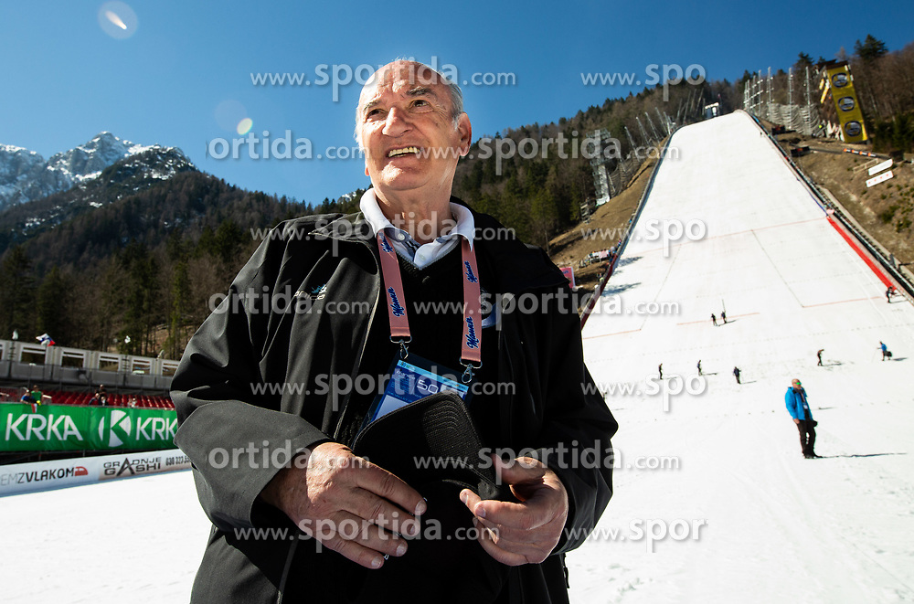 Ljubo Jasnic posing after the Ski Flying Hill Individual Competition at Day 4 of FIS Ski Jumping World Cup Final 2019, on March 24, 2019 in Planica, Slovenia. Photo by Vid Ponikvar / Sportida