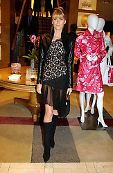 LADY EMILY COMPTON at a party hosted by Burberry to launch their special collection in aid of Breakthrough Breast Cancer, held at 21-23 New Bond Street, London W1 on 5th October 2004.<br /><br />NON EXCLUSIVE - WORLD RIGHTS