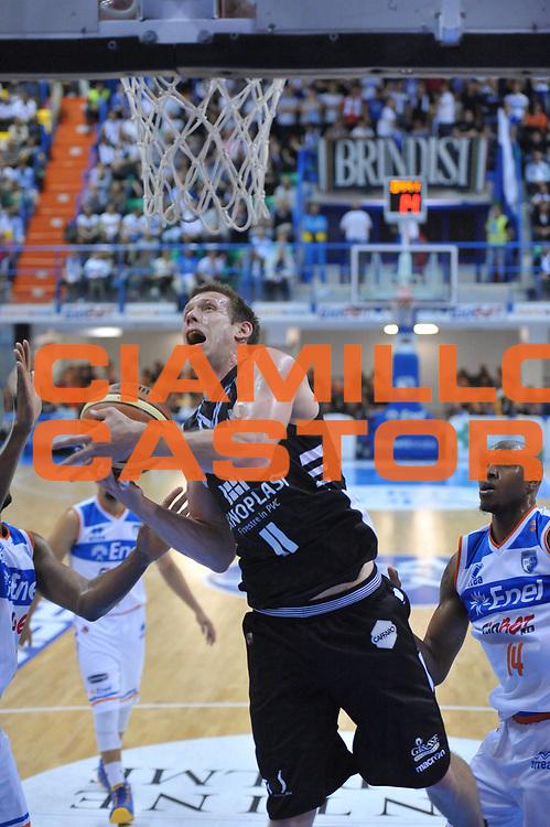 DESCRIZIONE : Brindisi Lega A 2012-13 Enel Brindisi Oknoplast Bologna<br /> GIOCATORE : Rocca Mason Richard<br /> CATEGORIA : Tiro<br /> SQUADRA : Oknoplast Bologna<br /> EVENTO : Campionato Lega A 2012-2013 <br /> GARA : Enel Brindisi Oknoplast Bologna<br /> DATA : 28/04/2013<br /> SPORT : Pallacanestro <br /> AUTORE : Agenzia Ciamillo-Castoria/V.Tasco<br /> Galleria : Lega Basket A 2012-2013  <br /> Fotonotizia : Brindisi Lega A 2012-13 Enel Brindisi Oknoplast Bologna