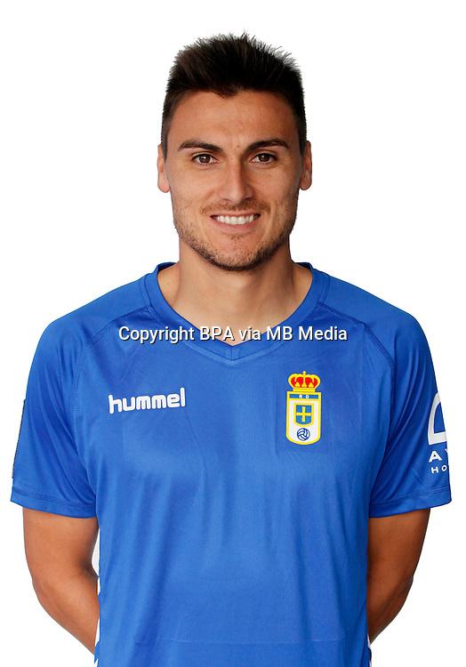 Spain - La Liga Adelante 2015-2016 / <br /> ( Real Oviedo ) - <br /> Jonathan Vila Pereira