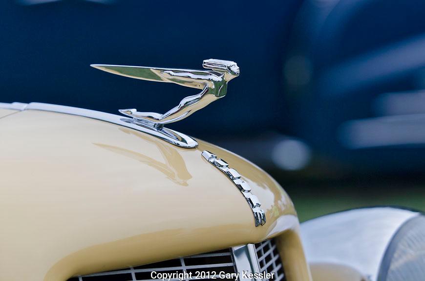 Auburn Hood Ornament,Keeneland Concours D'Elegance,Lexington,Ky.