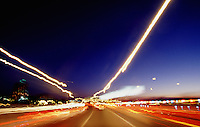 Rush Hour on the Interstate Highway, Hartford, Connecticut, USA