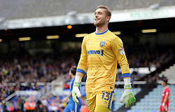 Tomas Holy of Gillingham - Mandatory by-line: Joe Dent/JMP - 14/10/2017 - FOOTBALL - ABAX Stadium - Peterborough, England - Peterborough United v Gillingham - Sky Bet League One