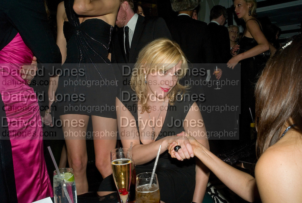 Amy Sacco, Weinstein Bafta after-party in association with Chopard. Bungalow 8. London. 10  February 2008.  *** Local Caption *** -DO NOT ARCHIVE-© Copyright Photograph by Dafydd Jones. 248 Clapham Rd. London SW9 0PZ. Tel 0207 820 0771. www.dafjones.com.