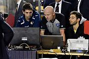 DESCRIZIONE : Roma Lega A 2014-2015 Acea Roma Openjob Metis Varese<br /> GIOCATORE : Paolo Taurino Arbitro<br /> CATEGORIA : Arbitro Instan Replay<br /> SQUADRA : Arbitro<br /> EVENTO : Campionato Lega A 2014-2015<br /> GARA : Acea Roma Openjob Metis Varese<br /> DATA : 16/11/2014<br /> SPORT : Pallacanestro<br /> AUTORE : Agenzia Ciamillo-Castoria/GiulioCiamillo<br /> GALLERIA : Lega Basket A 2014-2015<br /> FOTONOTIZIA : Roma Lega A 2014-2015 Acea Roma Openjob Metis Varese<br /> PREDEFINITA :