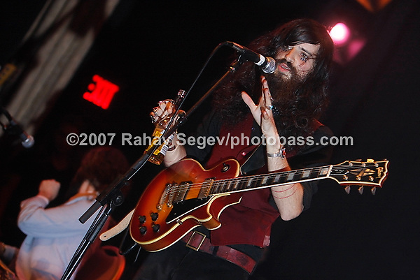 Devendra Banhart performing at the Manhattan Center on September 27, 2007.