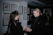 Tracey Emin and Jamie Wood, Ronnie Wood: Josephine - private view , Scream, 34 Bruton Street, London, W1. 29 March 2007. Rolling Stones  guitarist celebrates 22 years of marriage with exhibition of 60 oil paintings and watercolours of his wife.  -DO NOT ARCHIVE-© Copyright Photograph by Dafydd Jones. 248 Clapham Rd. London SW9 0PZ. Tel 0207 820 0771. www.dafjones.com.