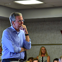 Jeb Bush Holds Town hall in Pensacola, Florida.<br />