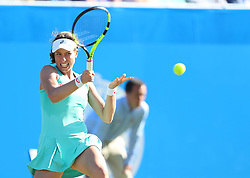 Johanna Konta of Great Britain in action - Mandatory by-line: Paul Terry/JMP - 24/06/2016 - TENNIS - Devonshire Park - Eastbourne, United Kingdom - Karolina Pliskova v Johanna Konta - Aegon International Eastbourne