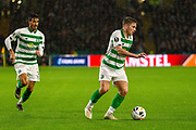 James Forrest during the Europa League match between Celtic and CFR Cluj at Celtic Park, Glasgow, Scotland on 3 October 2019.
