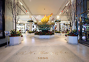 A floral replica of Lady Liberty's torch is the centerpiece for the 42nd Annual Macy's Flower Show, America the Beautiful, at Macy's Herald Square in New York, Sunday, March 20, 2016. (Diane Bondareff/AP Images for Macy's Inc.)