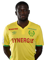 Abdoulaye Toure during photocall of Fc Nantes for new season of Ligue 1 on September 14th 2016<br /> Photo : Fcna / Icon Sport