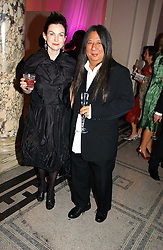 JOHN ROCHA and  at the British Fashion Awards 2006 sponsored by Swarovski held at the V&A Museum, Cromwell Road, London SW7 on 2nd November 2006.<br />