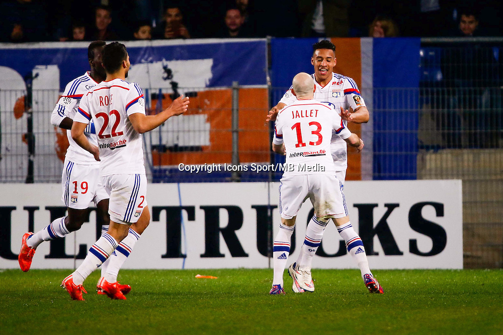 But Corentin Tolisso - 08.03.2015 -  Montpellier / Lyon  -  28eme journee de Ligue 1 <br />