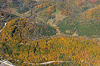Aerial photo of Cove Hollow Recreation Area in Smith County Tennessee near Center Hill Dam.