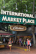 International Market Place, Downtown Waikiki, Honolulu, Oahu, Hawaii