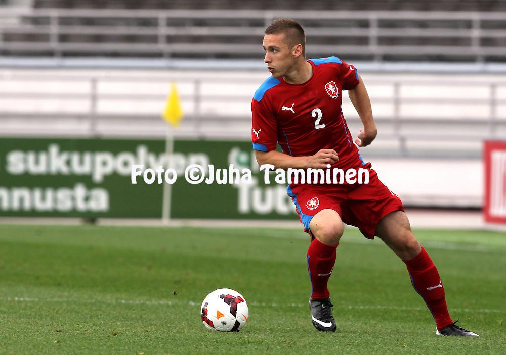 21.5.2014, Olympic Stadium, Helsinki, Finland.<br /> Friendly International match Finland v Czech Republic.<br /> Pavel Kaderabek - Czech Rep.