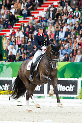 Charlotte Dujardin and Valegro winner Grand Prix Special - Grand Prix Special Dressage - Alltech FEI World Equestrian Games™ 2014 - Normandy, France.<br /> © Hippo Foto Team - Leanjo de Koster<br /> 25/06/14