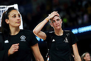 Anna Harrison of New Zealand looks on after losing the Netball Final between New Zealand and Australia. Glasgow 2014 Commonwealth Games. Netball Final, Silver Ferns v Diamonds, The Hydro, Glasgow, Scotland. Sunday 3 August 2014. Photo: Anthony Au-Yeung / photosport.co.nz