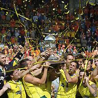 DEN HAAG - Rabobank Hockey World Cup<br /> 38 Final: Australia - Netherlands<br /> Australia wins and is World Champion.<br /> Foto: Australian team.<br /> COPYRIGHT FRANK UIJLENBROEK FFU PRESS AGENCY