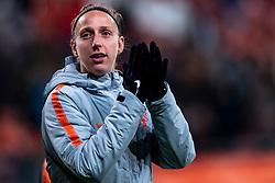 09-11-2018 NED: UEFA WC play-off final Netherlands - Switzerland, Utrecht<br /> European qualifying for the 2019 FIFA Women's World Cup - Sari van Veenendaal #16 of Netherlands