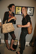 LOUISE ROE AND DI POOLE, Photos by Robert Mapplethorpe: Still Moving & Lady, Alison Jacques Gallery, 4 Clifford Street, London, W1, Dinner afterwards at the  The Dorchester with performance by Patti Smith, 7 September 2006.  ONE TIME USE ONLY - DO NOT ARCHIVE  © Copyright Photograph by Dafydd Jones 66 Stockwell Park Rd. London SW9 0DA Tel 020 7733 0108 www.dafjones.com