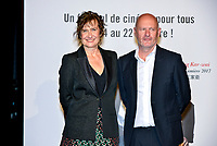 Anne Le Ny &amp; Jean Pierre Salome attend the lumiere prize ceremony during 9th Film Festival in Lyon, October 20, 2017<br /> 9th Lyon Film Festival - Lumiere Award 2017