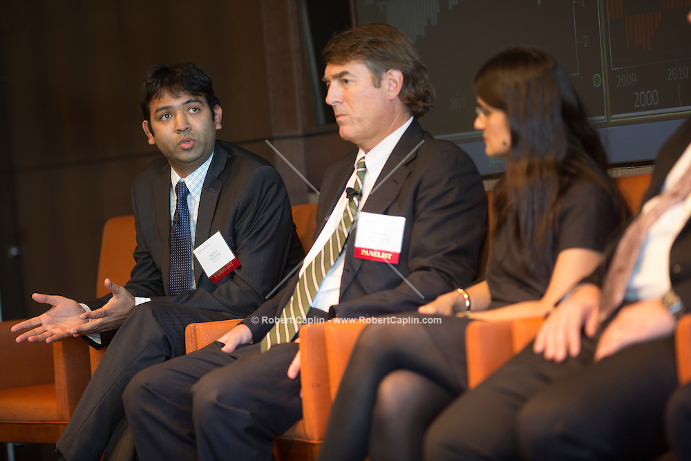 IFR Panel at Thompson Reuters Building in New York.<br /> <br /> Photo &copy; Robert Caplin